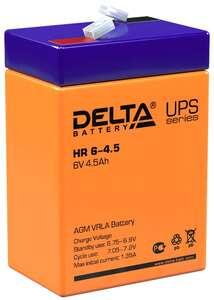 Аккумулятор Delta HR 6-4.5 (6V / 45Ah)