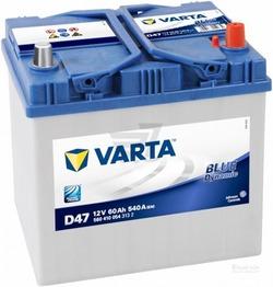 Аккумулятор автомобильный Varta blue dynamic D47 (560410054)