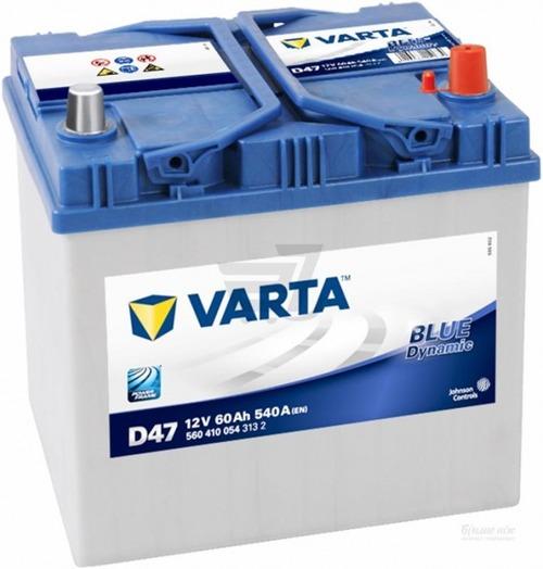 VARTA  Blue dynamic -60Ач (D47)  60А/ч  540А