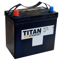 Аккумулятор автомобильный TITAN ASIA STANDART 50ah 6СТ-50.1 VL B00