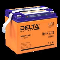 Аккумулятор Delta DTM 1233 i (12V / 33Ah)