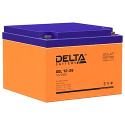 Аккумулятор Delta GEL 12-26 (12V / 26Ah)