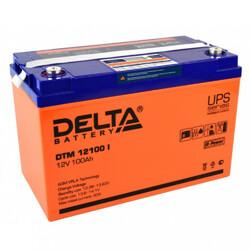 Аккумулятор Delta DTM 12100 i (12V / 100Ah)
