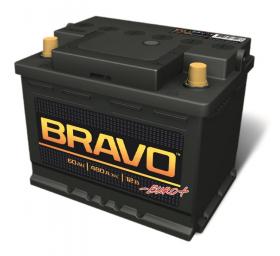 Аккумулятор Аком Bravo 60Ah 480a (L+)