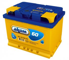 Аккумулятор Аком 60Ah 540a (L+)