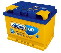 Аккумулятор Аком 60Ah 540a (R+)