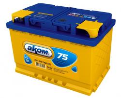 Аккумулятор Аком 75Ah 700a (R+)