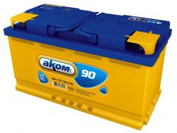 Аккумулятор Аком 90Ah 780a (L+)