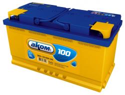 Аккумулятор Аком 100Ah 850a (L+)