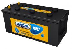 Аккумулятор Аком 190Ah 1200a (R+)