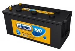 Аккумулятор Аком 190Ah 1200a (L+)