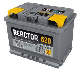 Аккумулятор Аком Reactor 62Ah 620a (L+)