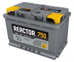 Аккумулятор Аком Reactor 75Ah 750a (R+)