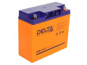 Аккумулятор Delta DTM 1217 (12V / 17Ah)