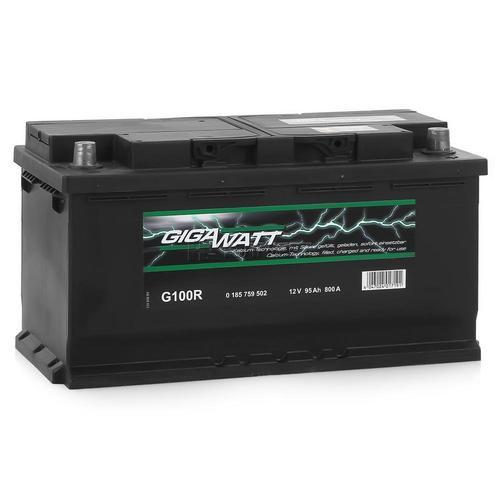 GIGAWATT G100R 100А/ч 830A