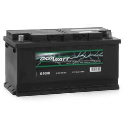 Аккумулятор автомобильный Gigawatt G95R 95А/ч 800A