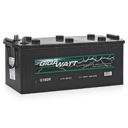 Аккумулятор грузовой Gigawatt G180R 180А/ч 1000A