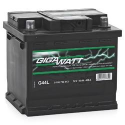 Аккумулятор автомобильный Gigawatt G44L 45А/ч 400A