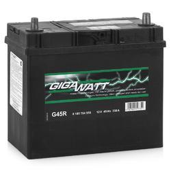 Аккумулятор автомобильный Gigawatt G45R 45А/ч 330A
