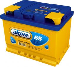 Аккумулятор Аком 65Ah 600a (R+)