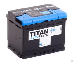 Аккумулятор автомобильный TITAN EUROSILVER 56ah 6СТ-56.1 VL