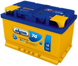 Аккумулятор Аком LB 74Ah 700a (R+)