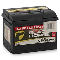 Аккумулятор автомобильный Black Horse 63А/ч 510А