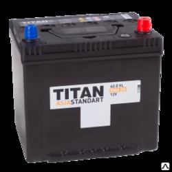 Аккумулятор автомобильный TITAN ASIA STANDART 62ah 6СТ-62.0 VL B01