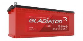 Аккумулятор автомобильный GLADIATOR EFB 195Ah 1400А клеммы под болт