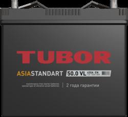 Аккумулятор автомобильный TUBOR ASIA STANDART 50ah 6СТ-50.0 VL B00