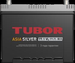 Аккумулятор автомобильный TUBOR ASIASILVER 77ah 6СТ-77.1 VL B01