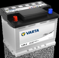 Аккумулятор VARTA Стандарт L2R-2 60ah/520a, 6СТ-60.1
