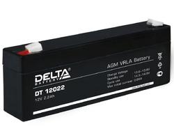 Аккумулятор Delta DT 12022 (12V / 2.2Ah)