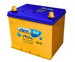 Аккумулятор Аком Asia 65Ah 570a (R+)