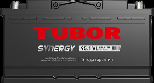 Аккумулятор TUBOR SYNERGY 95ah, 6СТ-95.1 VL