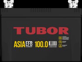 Аккумулятор автомобильный TUBOR ASIA EFB 100ah 6СТ-100.0 VL B00