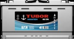Аккумулятор автомобильный TUBOR AQUATECH 100ah 6СТ-100.0 VL
