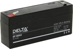 Аккумулятор Delta DT 6033 (6V / 3.3Ah)