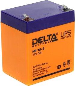 Аккумулятор Delta HR 12-5 (12V / 5Ah)