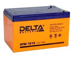 Аккумулятор Delta DTM 1212 (12V / 12Ah)