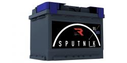 Аккумулятор автомобильный Sputnik 55Ah 500А