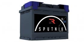 Аккумулятор автомобильный Sputnik 55Ah 500А прямая полярность