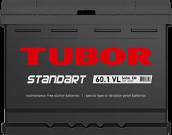 Аккумулятор TUBOR STANDART 60ah, 6СТ-60.1 VL