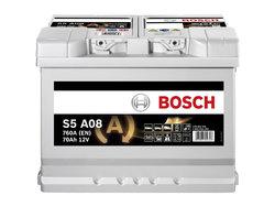 AGM Аккумулятор автомобильный Bosch S5 a08 70 а/ч 0092S5A080