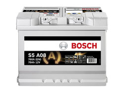 BOSCH S5 AGM (S5 A08)  70А/ч  760А START-STOP