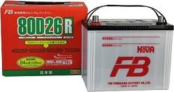 Аккумулятор автомобильный FB Super Nova 80D26R