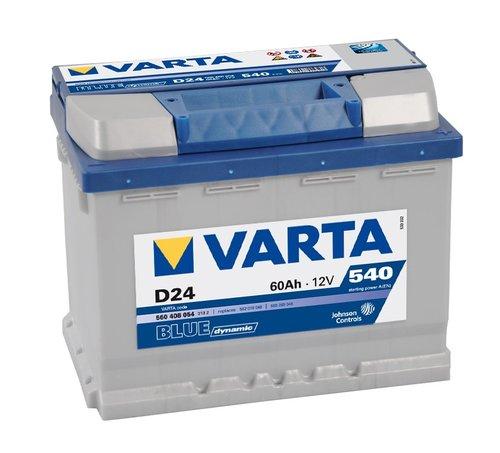 VARTA Blue dynamic-60Ач (D24)  60А/ч  540А