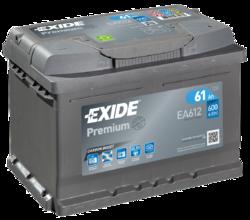 Купить аккумулятор Exide EA612, 61 А/ч 600 А