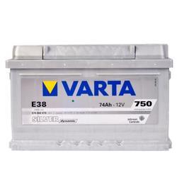 VARTA Silver dynamic-74Ач (E38)  74А/ч  750А