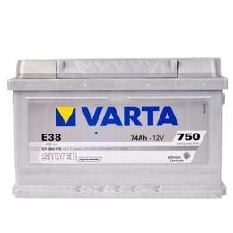 Аккумулятор автомобильный Varta silver dynamic E38 (574402075)